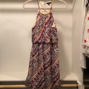 As U Wish patterned dress